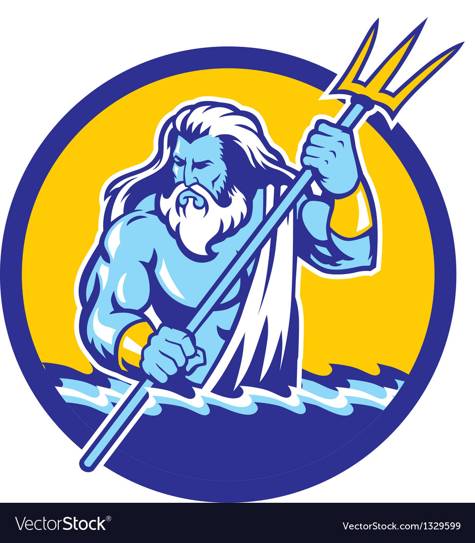 Poseidon vector | Price: 3 Credit (USD $3)