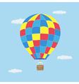 Hot air baloon vector