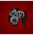 Brain gears vector