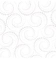 Abstract geometric pattern dots around  repeating vector