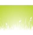 Grass meadow vector