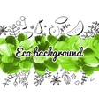 Acrylic eco background vector