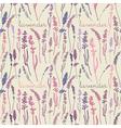 Lavender pattern background vector
