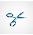 Scissors icon vector