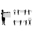 Business people board set3 vector