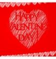 Happy valentine day card vector
