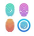 Fingerprint set vector