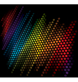 color scale equalizer on black background vector