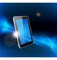 Futuristic mobile phone vector