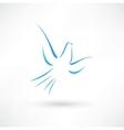 Pigeon icon vector