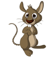 Cute mouse cartoon vector
