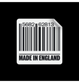 Made in england icon vector