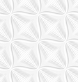 White geometrical diagonal onion shape seamless vector