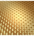 Abstract metal gold background with squares vector