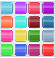 Colorful buttons templates vector