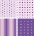 Set of nice simple patterns vector