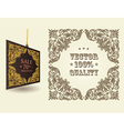 Vintage ornate page vector