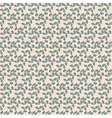 Seamless floral repeating pattern vector
