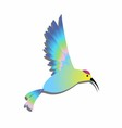 Bird clipart logo colorful vector