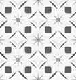 White snowflakes on dark gray seamless vector