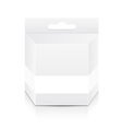 Blank cartridge box template vector