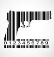 Barcode gun image vector