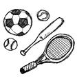 Scribble series - sports vector