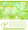 Abstract website template - green vector