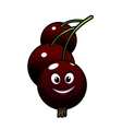 Cartoon tasty currant berries vector