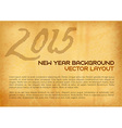 2015 old background vector