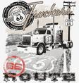 Truck route66 arizona vector