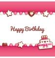 Birthday candy vector