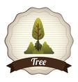 Tree design vector