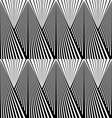 Abstract background in black and white tones vector