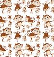 Seamless monkey vector
