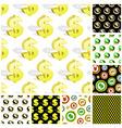 Dollar seamless pattern vector