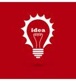 Idea bulb 2 vector