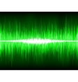 Sound waves oscillating on black background eps 8 vector