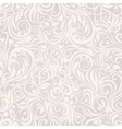 Seamless floral lightgrey background vector