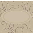 Cute background with decorative elements vector