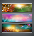 Abstract bokeh collections background vector