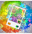 Icon colorful abstract background eps10 vector