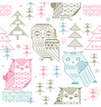 Knitted design elements vector