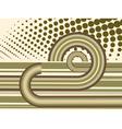Abstract circles and stripes vector