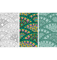 Doodle pattern vector