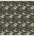 Military camouflage seamless pattern vector