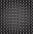 Web gray perforated metal abstract background vector