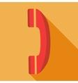 Modern flat design concept icon phone vector