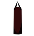 Boxing bag vector
