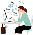 Doing taxes crunching numbers vector